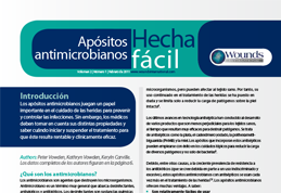 Apósitos antimicrobianos