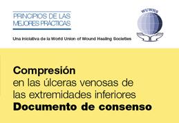 Compresión en las úlceras venosas de las extremidades inferiores