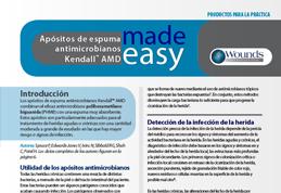 Apósitos de espuma antimicrobianos Kendall AMD