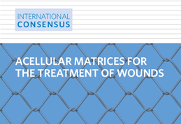 Matrices acelulares para el tratamiento de heridas