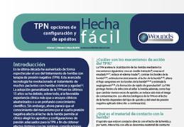TPN opciones de configuración y de apósitos